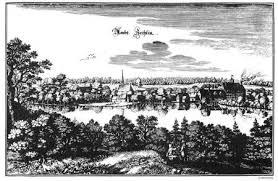 Kupferstich Schloss