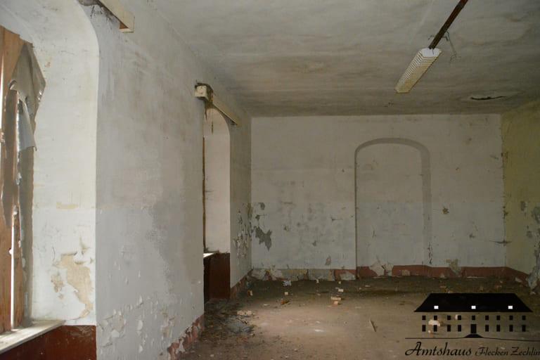 Amtshaus Flecken Zechlin Ferienzimmer vor Bauarbeiten